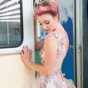 dress, hair