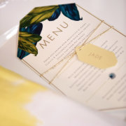 table setting, stationery