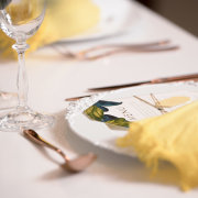 glassware, table setting