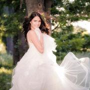 forest, headpiece, wedding dress
