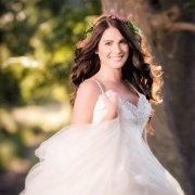 forest, hairstyle, headpiec, wedding dress