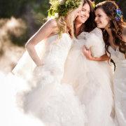 hairstyle, headpiece, wedding dress