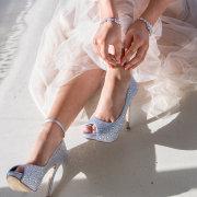 bracelet, shoes