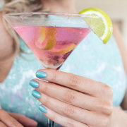 cocktail, nails