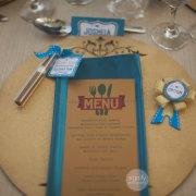 menu, name cards, stationery, wedding favour