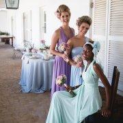 bouquet, bridesmaid dress, hairstyle, headband