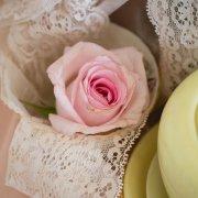 flowers, lace