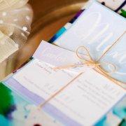 menu, name cards, stationery