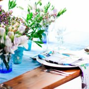 flowers, table