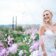necklace, wedding dress