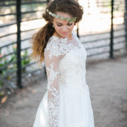 hairstyle, headpiece, wedding dress