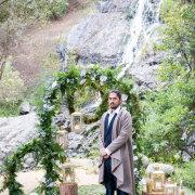 arch, forest, suit