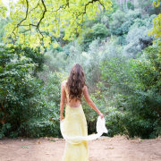 forest, hairstyle, wedding dress
