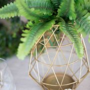 decor, geometric table decor, decor