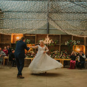fairy lights, first dance