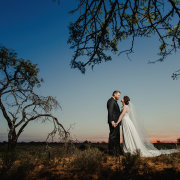 bride and groom, bride and groom, bride and groom, safari wedding