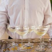 champagne, staff