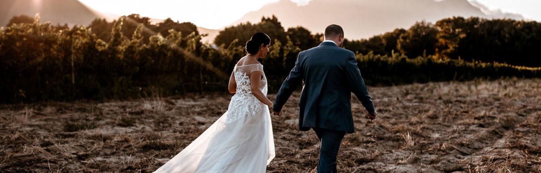 Taryn & Jaryd Scher Real Wedding