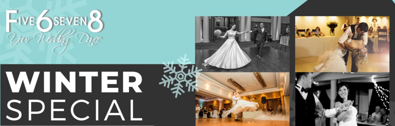 Five6Seven8 Dance Studio Wedding Special