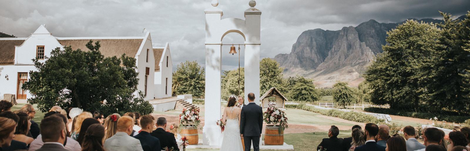Zorgvliet Bespoke Wedding Package