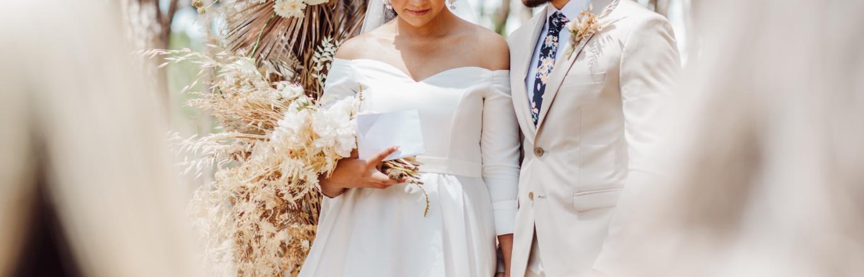 Zoe & Ehren Micro Forest Wedding