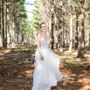 dress, forest, hair, makeup