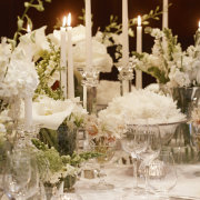 candles, decor, flowers, lighting