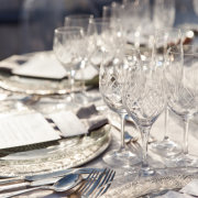 glassware, table setting, table setting