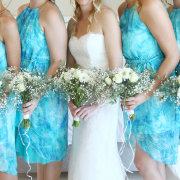 bouquet, wedding dress, bridemaids dresses