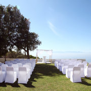 aisle, beach, outside ceremony