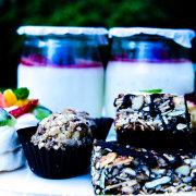 catering, dessert