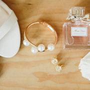 accessories, earrings, perfume