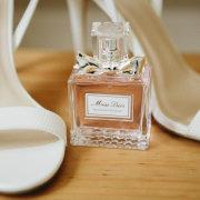 brides shoes, perfume