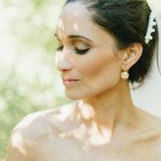 earrings, makeup