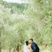 forest, kiss, veil