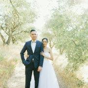forest, suit, wedding dress