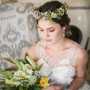 bouquet, headpiece