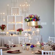 decor, flowers, lighting