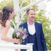bouquet, hair, suit, waistcoat