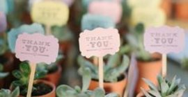 Unique Wedding Favour Ideas
