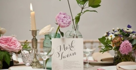 Unique Table Numbers Ideas