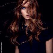 hair, red