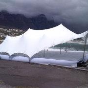 stretch, tent