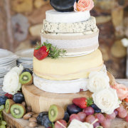 cheese cake, kiwi
