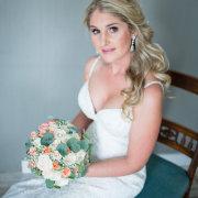 bouquet, bride, earings