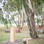 outdoor, wedding games, pre-drinks