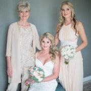bouquet, bride, bridesmaid, mother of the bride