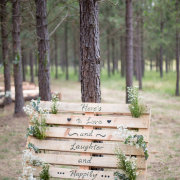 ceremony, decor, outdoor, signage, quote
