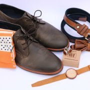 belt, bowtie, cufflinks, grooms accessories, socks, watch
