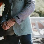 suit, watch